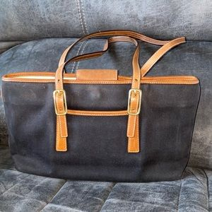 Coach legacy west bag black